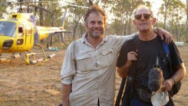 New award: Tanna directors Bentley Dean (left) and Martin Butler.