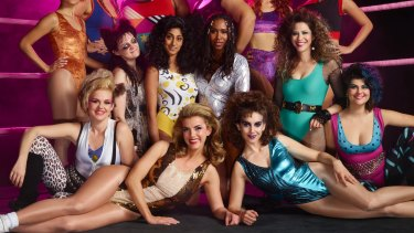 GLOW was inspired by a real-life women's wrestling TV series from the late 1980s.
