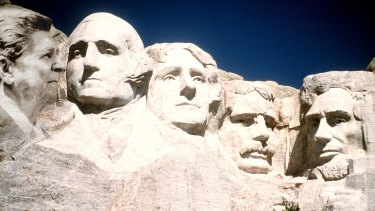 Reagan fans have campaigned for his likeness to be added to those of Washington, Jefferson, Theodore Roosevelt and Lincoln on Mount Rushmore.