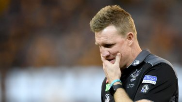 Nathan Buckley: Left-field contender for the AFL football operations manager role.