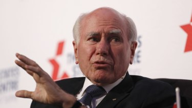 Former prime minister John Howard has authorised a full-page advertisement about his views on the same-sex marriage debate.