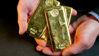 Gold stocks go through the roof
