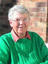 Marjorie Pizer in her 80s.
