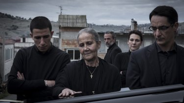Filmed on overcast days, <i>Black Souls</i> presents a gloomy and bleak vision of Calabria.