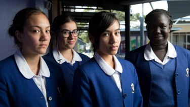 Year 9 students at Cerdon College are part of the first cohort that will need to achieve a band eight in NAPLAN tests to qualify for the HSC.