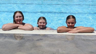 The place to be: Moree Artesian Aquatic Centre has had record numbers through its gates.