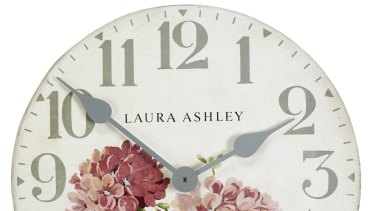 Clock's ticking: Laura Ashley is among retail businesses to have died recently.