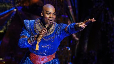 Born for the role: Michael James Scott is outstanding as Genie.