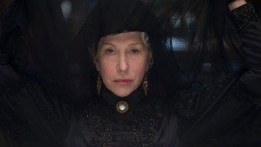 Helen Mirren plays the troubled heiress Sarah Winchester.