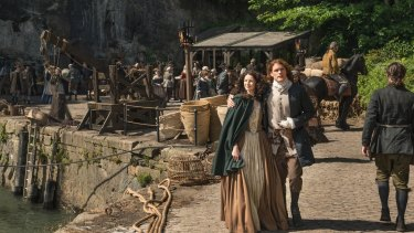 Outlander returns for a second season.
