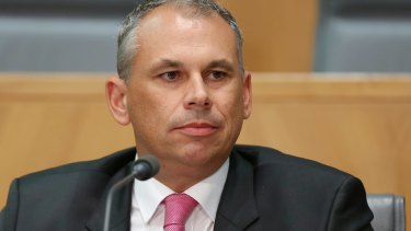 Former  Northern Territory Chief Minister Adam Giles.