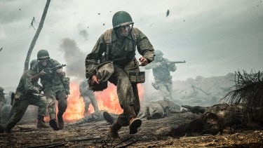 Screenplay recognised: Andrew Garfield in Hacksaw Ridge.