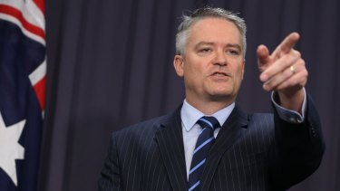 Mathias Cormann has accused Labor of trashing economic legacy by embracing socialism which, he says, will crush aspiration and drive successful people from Australia.