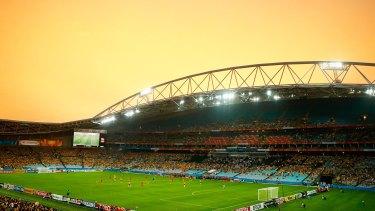 Redevelopment: ANZ Stadium.