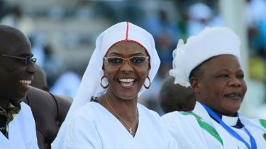 Grace Mugabe's political machinations appear to have backfired, bringing down her husband and protector.