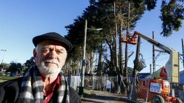 David Berry, president, Blackburn & District Tree Preservation Society says the community is 'really upset'.