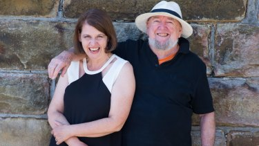 """There isn't a lot of conflict, because we're very similar"": Meg and Tom Keneally."