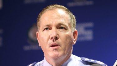 NSW Police Commissioner Mick Fuller.