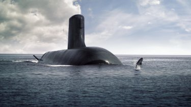 DCNS is basing its design for the Australian submarines on France's nuclear-powered Barracuda boat, the first of which hits the water next year.