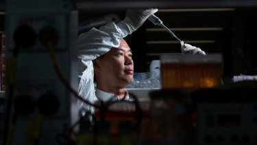 Dr Ben Tang has developed a way of predicting if people are susceptible for the flu virus.