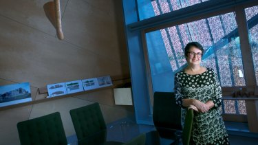 Justine Clark founded Parlour, an advocacy organisation for equity in architecture.
