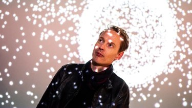 Designer Daan Roosegaarde: ''If we can trigger the beauty and imagination of this new world, that's the way to activate people.''