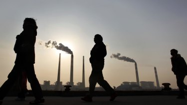 China's greenhouse gas emissions are set to overtake the US's.
