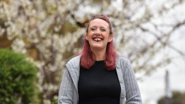 A specialist homeless psychiatric program has turned Antoinette Croft's life around.