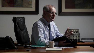 Under the microscope: Treasurer Scott Morrison.