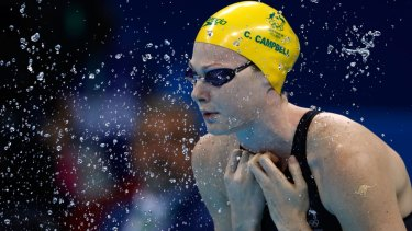 Disappointing meet: Cate Campbell.