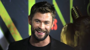Chris Hemsworth says while things happened quickly for him when he went to Hollywood, years of work went into his career taking off.