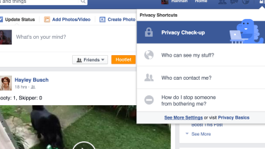 Access the new Advert Preferences via Facebook's privacy settings.
