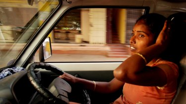 Still from <i>Driving With Selvi</i>, screening at the Canberra International Film Festival.