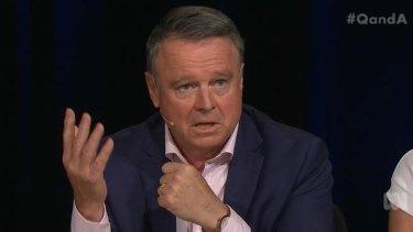 Shadow Labor minister Joel Fitzgibbon.