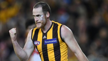 Jarryd Roughead is positive about the Hawks' future.