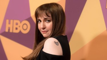 Lena Dunham hosts the blockbuster podcast Women of the Hour.