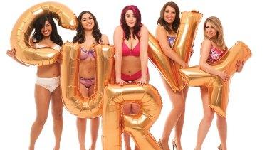 Online bra retailer Curvy sells bigger size bras.