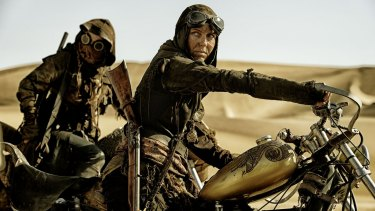 Joy featured in <i>Mad Max:Fury Road</i> as part of the The Vuvalini.