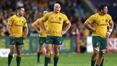 Whisky sour: A shock loss to Scotland on Saturday will underscore a perceived low point in the Australian game.