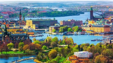 Old Town in Stockholm,