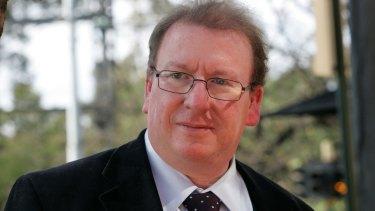 Author Michael McGirr.