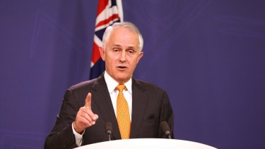 Prime Minister Malcolm Turnbull in Sydney on Friday.