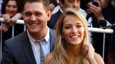 Michael Buble has two children with actress Luisana Lopilato.