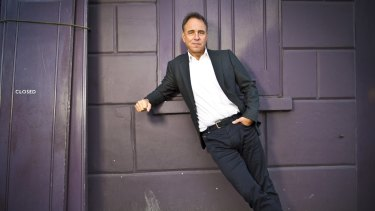 Unsatisfactory childhood: Anthony Horowitz.