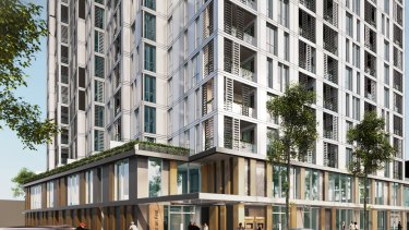 The 160-apartment site in Blacktown listed for joint venture or sale by Austcorp Property Group.