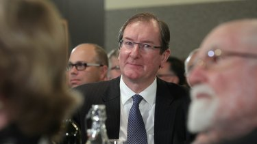 Outgoing federal Liberal Party director Brian Loughnane.
