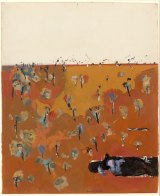 You Yangs pond, 1967, gouache.