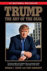 "This book cover image released by Ballantine Books shows the 2015 paperback reprint edition of  the 1987 book, ""Trump: The Art of the Deal,"" by Donald Trump with Tony Schwartz."