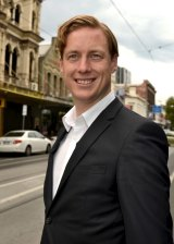The Greens' Sam Hibbins surprised by wining the state seat of Prahran last year.