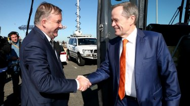 Labor frontbencher Anthony Albanese will move the motion congratulating leader Bill Shorten at Friday's caucus meeting in Canberra.